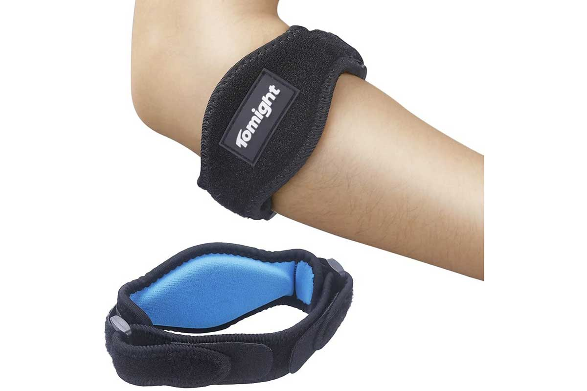 Hand & Finger Supports›Elbow Braces $14.99 & FREE Shipping on orders over $25.00 shipped by Amazon. Details  Arrives: Monday, July 27 Details Fastest delivery: Tomorrow Order within 3 hrs and 57 mins Details In Stock. Qty: 1 Qty:1 Add to Cart Buy Now   Secure transaction Sold by Tomight Direct and Fulfilled by Amazon. Add gift options Deliver to Alicia - Winter Park 32789 Add to List Share     Other Sellers on Amazon 5 open box & new from $13.47 Have one to sell? Sell on Amazon  Sponsored         Tomight [2 Pack] Elbow Brace, Tennis Elbow Brace with Compression Pad for Both Men and Women Roll over image to zoom in Tomight [2 Pack] Elbow Brace, Tennis Elbow Brace with Compression Pad