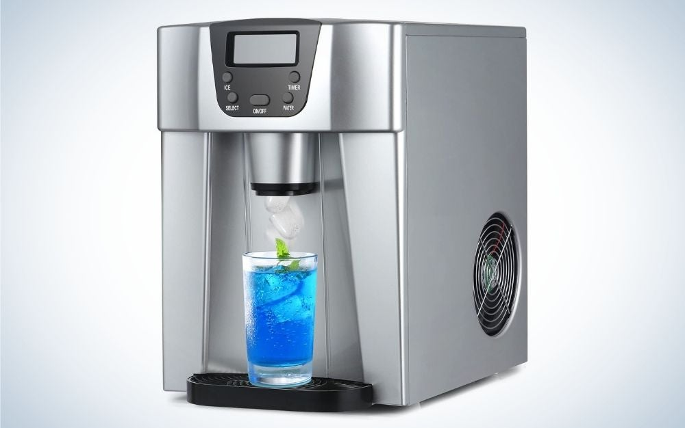 The Coollife Compact Countertop Ice Maker is the best multitasker.