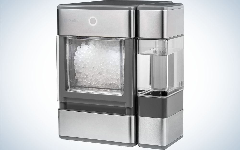 The GE Profile Opal Countertop Nugget Ice Maker is the best for fancy ice.