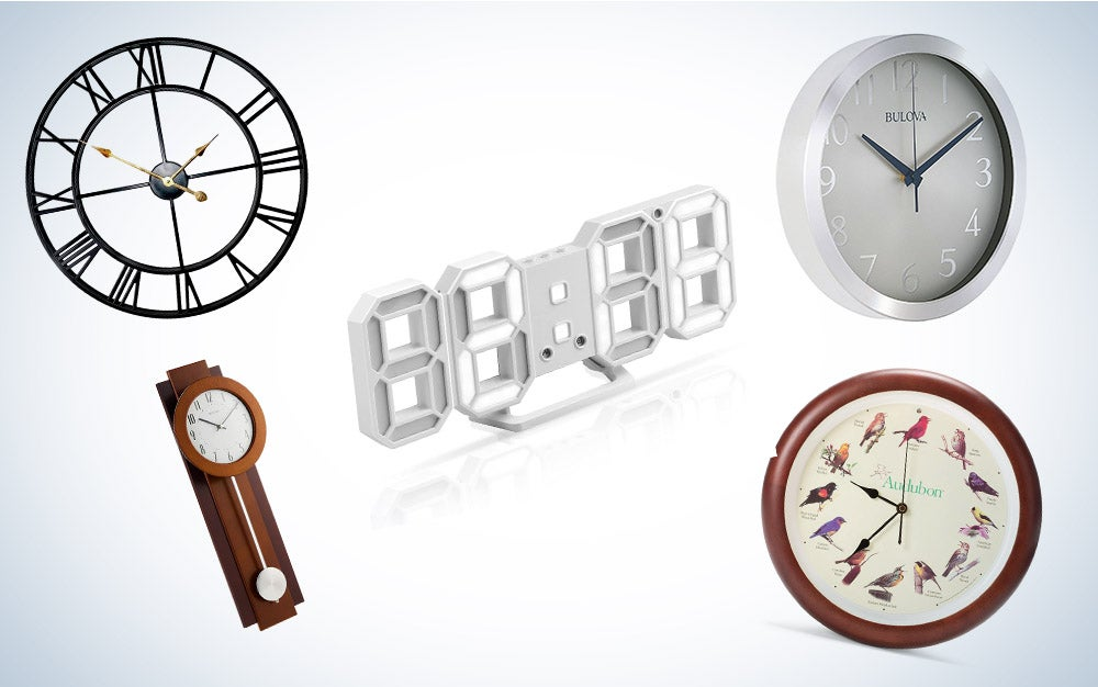 These are our picks for the best wall clocks on Amazon.
