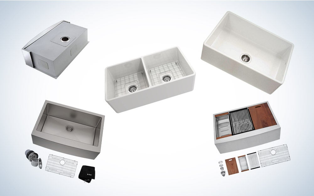 These are our picks for the best farmhouse sinks on Amazon.