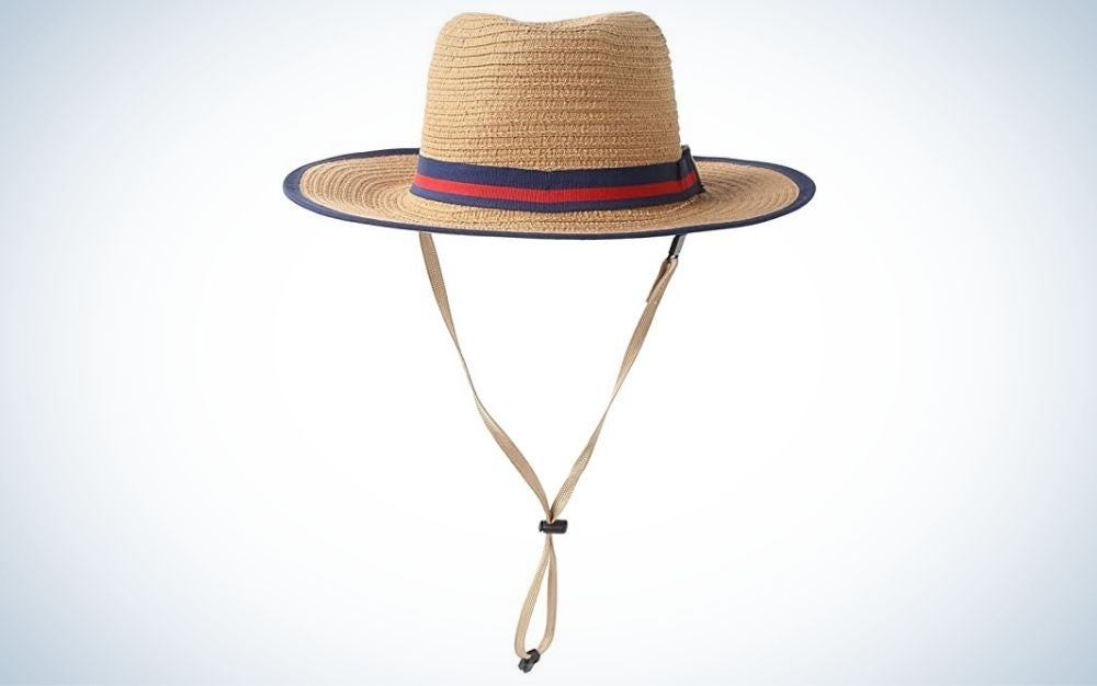 The Connectyle Unisex Fedora Boater Hat is one of the best sun hats for kids' and one of the most stylish.