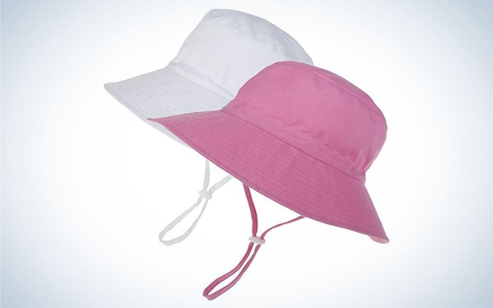 The MaxNova two-pack is one of the best kids' sun hats for value.