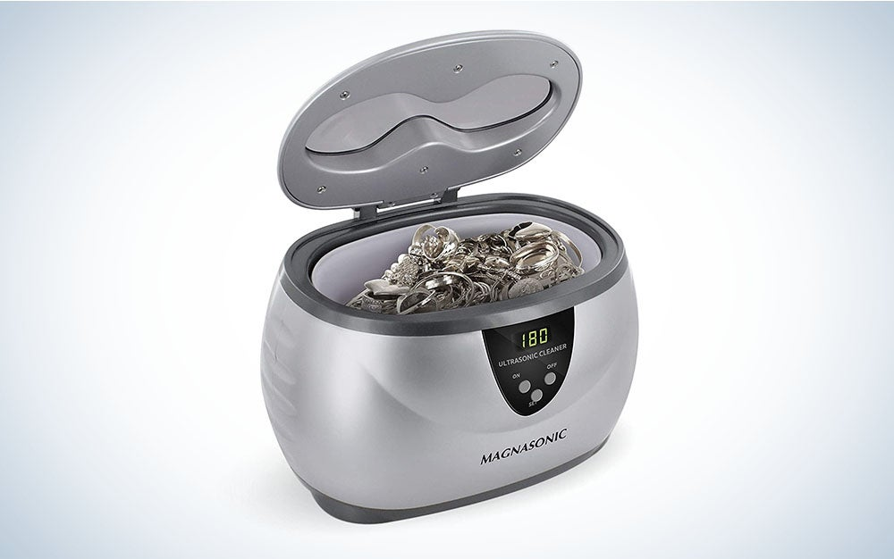 The Magnasonic Professional Ultrasonic Jewelry Cleaner is the best overall.