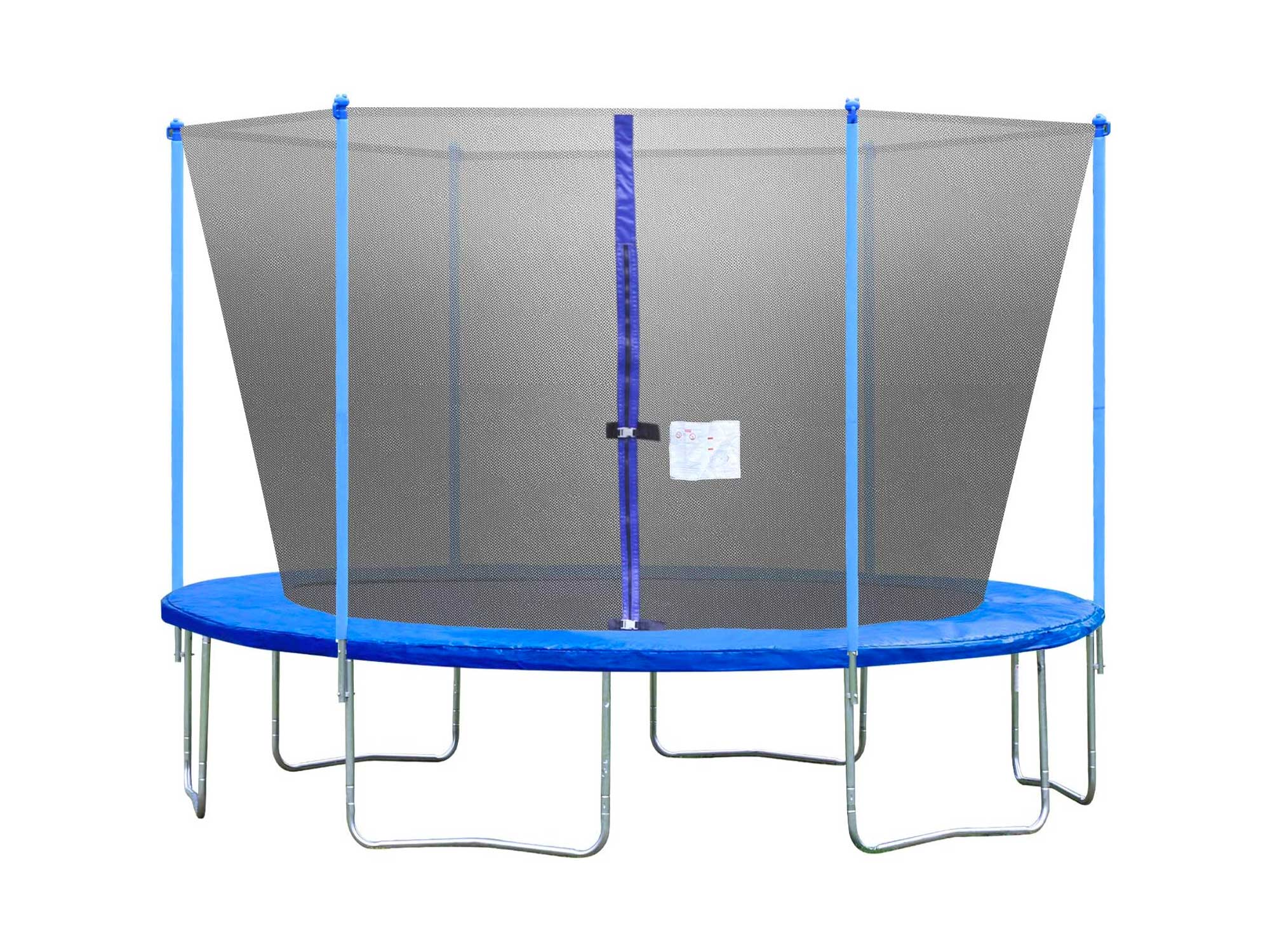 BestMassage Trampoline with Enclosure Net Ladder Outdoor Fitness Trampoline PVC Spring Cover Padding for Children and Adults