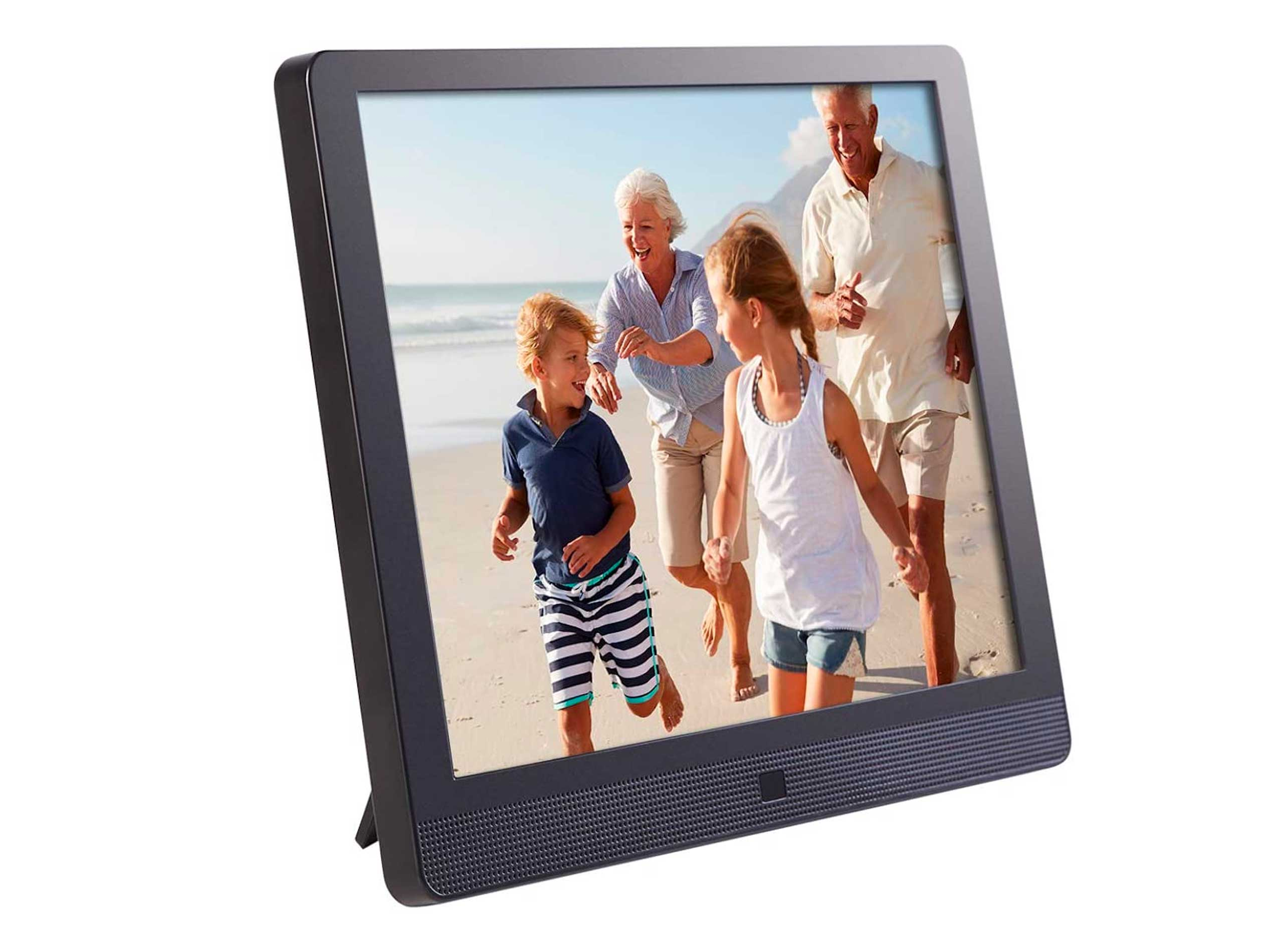 Pix-Star 10 Inch Wi-Fi Cloud Digital Picture Frame with IPS high resolution display, Email, iPhone iOS and Android app, DLNA and Motion Sensor