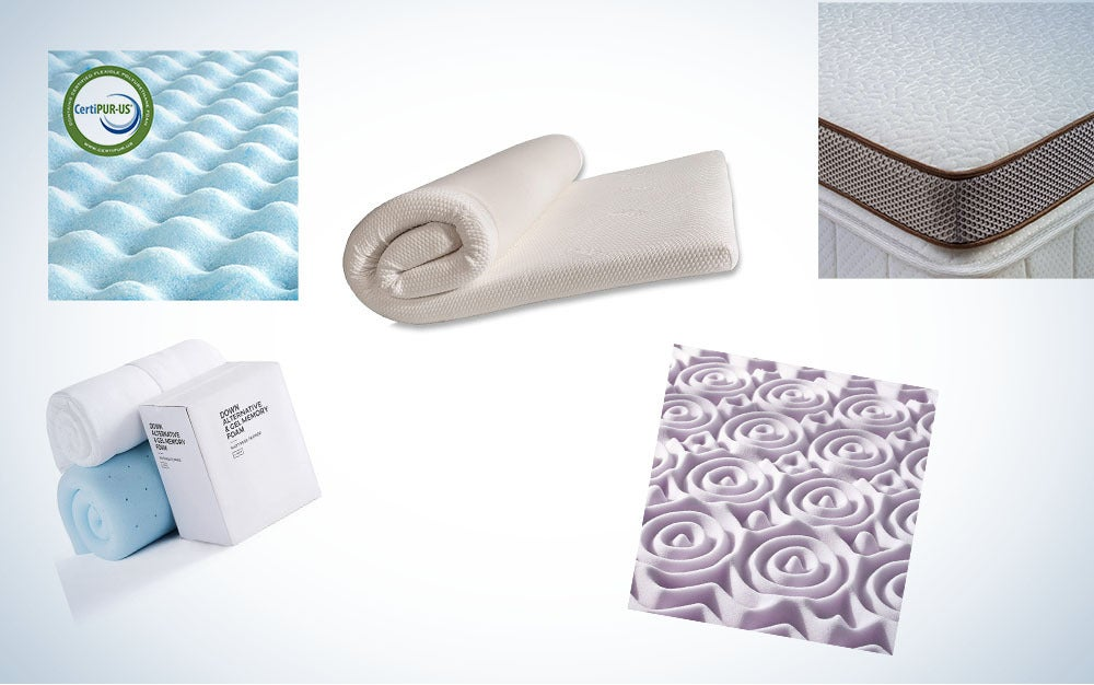 These are our picks for the best memory foam mattress toppers on Amazon.