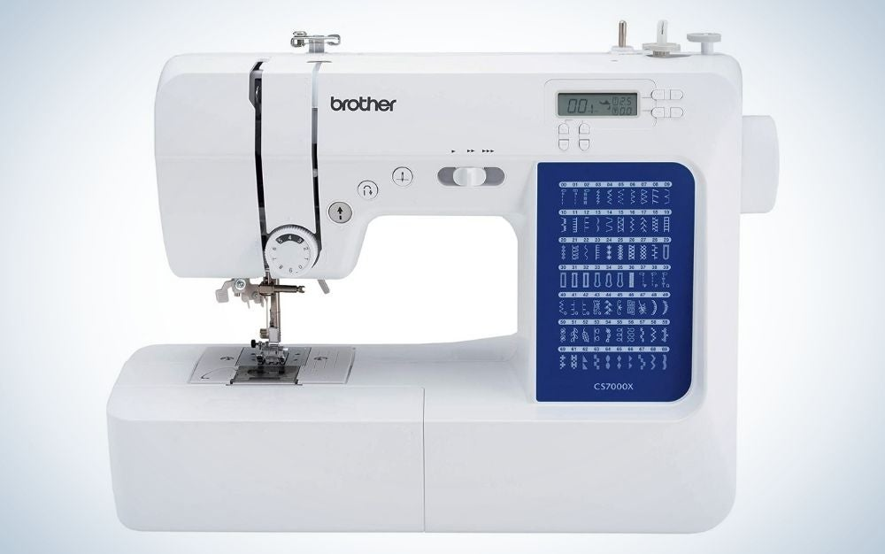 The Brother CS7000X Computerized Sewing and Quilting Machine is the best computerized sewing machine.