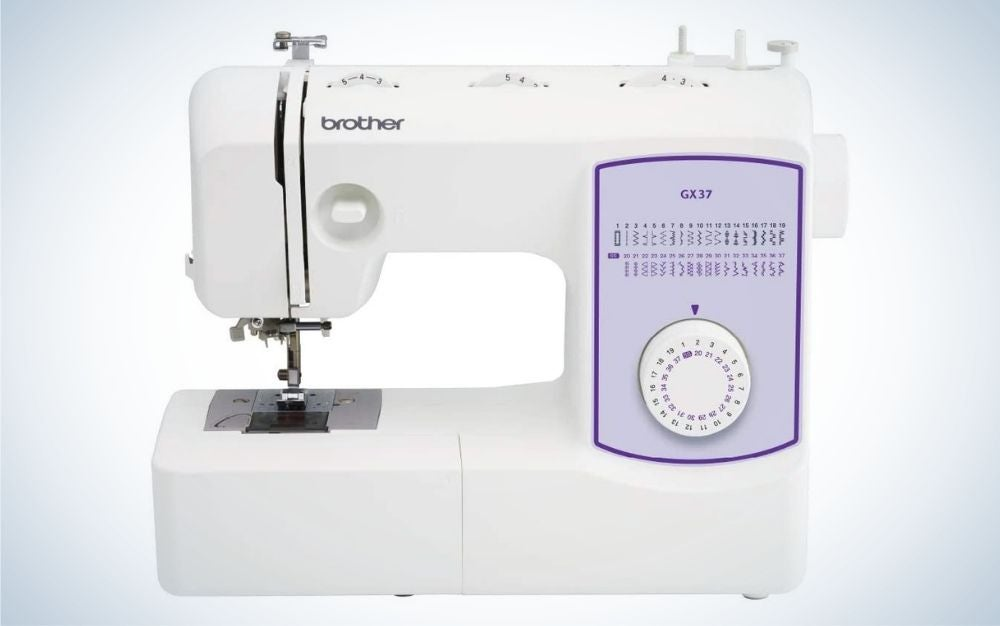 The Brother Sewing Machine GX37 is the best value.