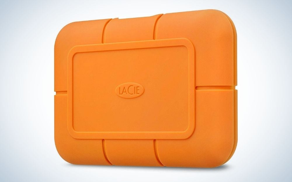 The LaCie Rugged 500GB SSD is the best rugged external hard drive.