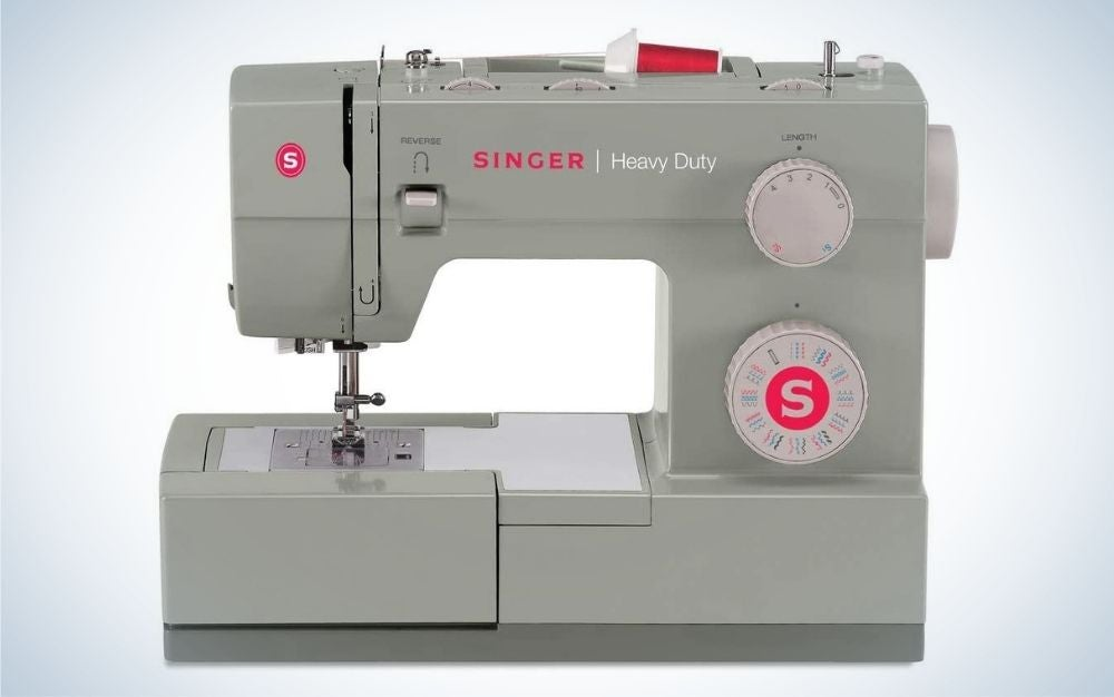 The SINGER   Heavy Duty 4452 Sewing Machine is the best heavy-duty sewing machine.
