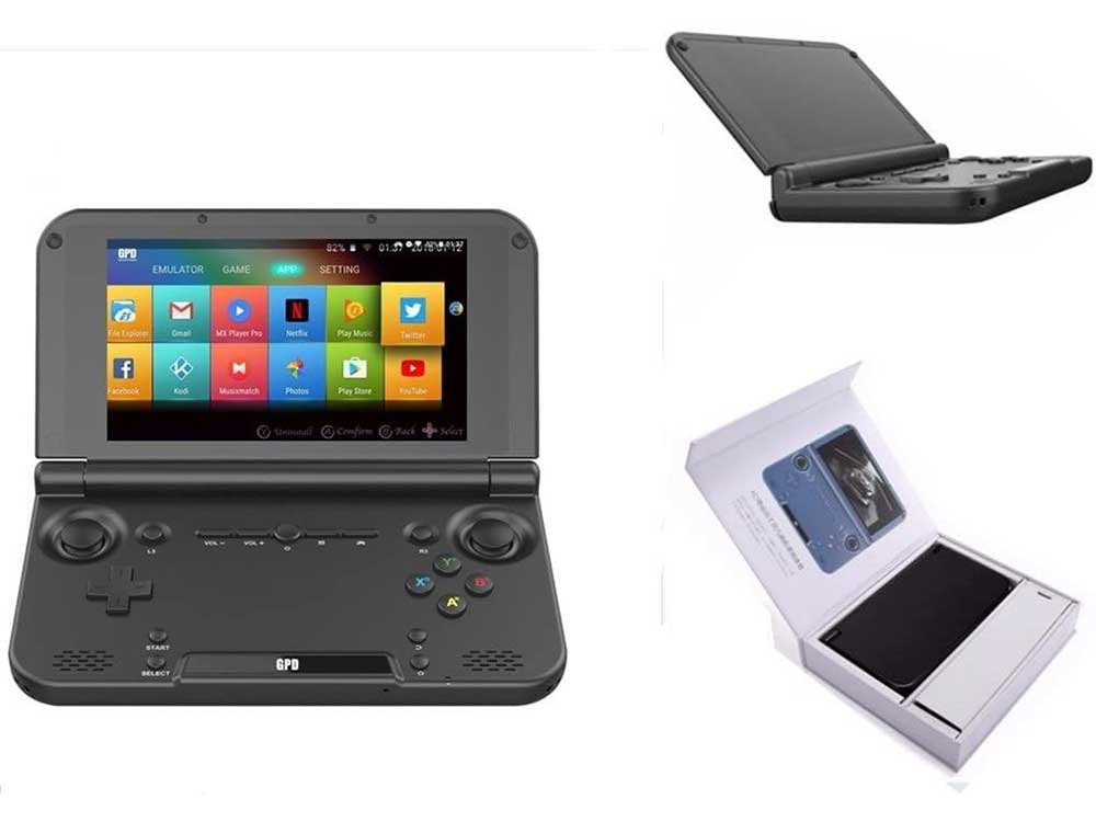 GPD XD Plus [Official distributor,Latest HW & Most Stable Update] Foldable Handheld Game Consoles 5