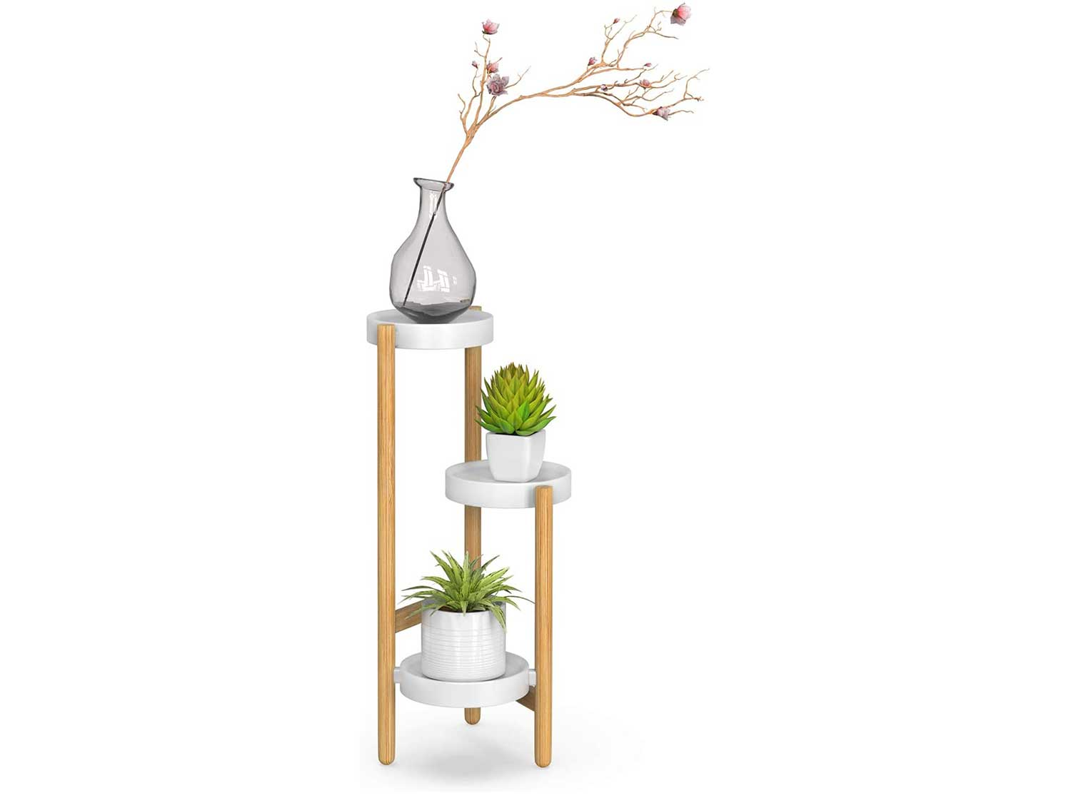 Bamboo Plant Stands Indoor
