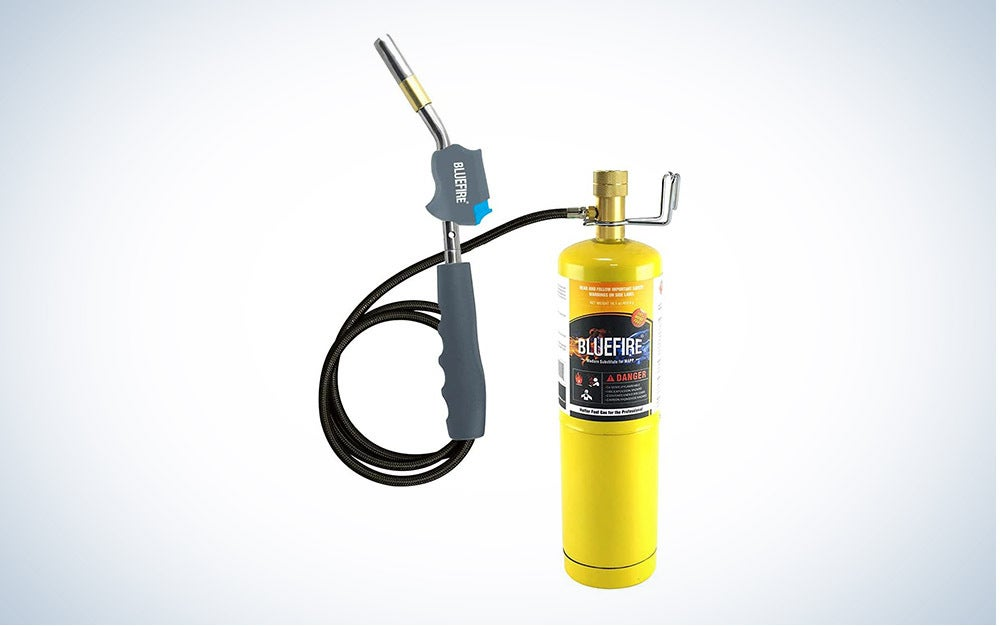 Bluefire HZ-8388B Self Igniting 3' Hose is the best blow torch.