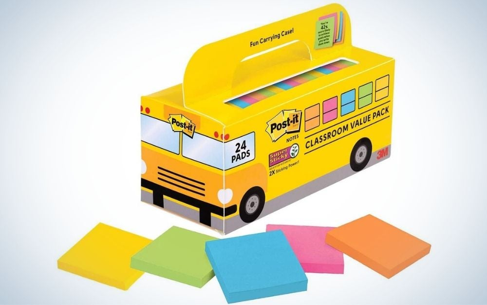 Post-it Super Sticky Notes Value Pack are the best overall.