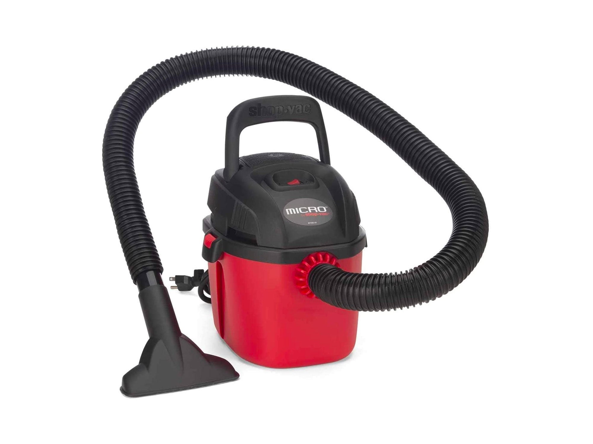 Shop-Vac Micro Wet/Dry Vac Portable Compact Micro Vacuum with Collapsible Handle Wall Bracket & Multifunction Accessories Uses Type A Filter Bag & Type MM Foam Sleeve