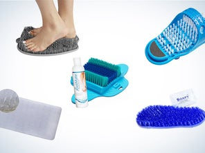 The Best Scrubber Mats to Exfoliate Your Feet