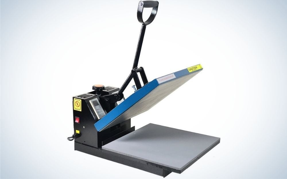 The Fancierstudio Power Heat Press machine for T-shirts is the best overall.