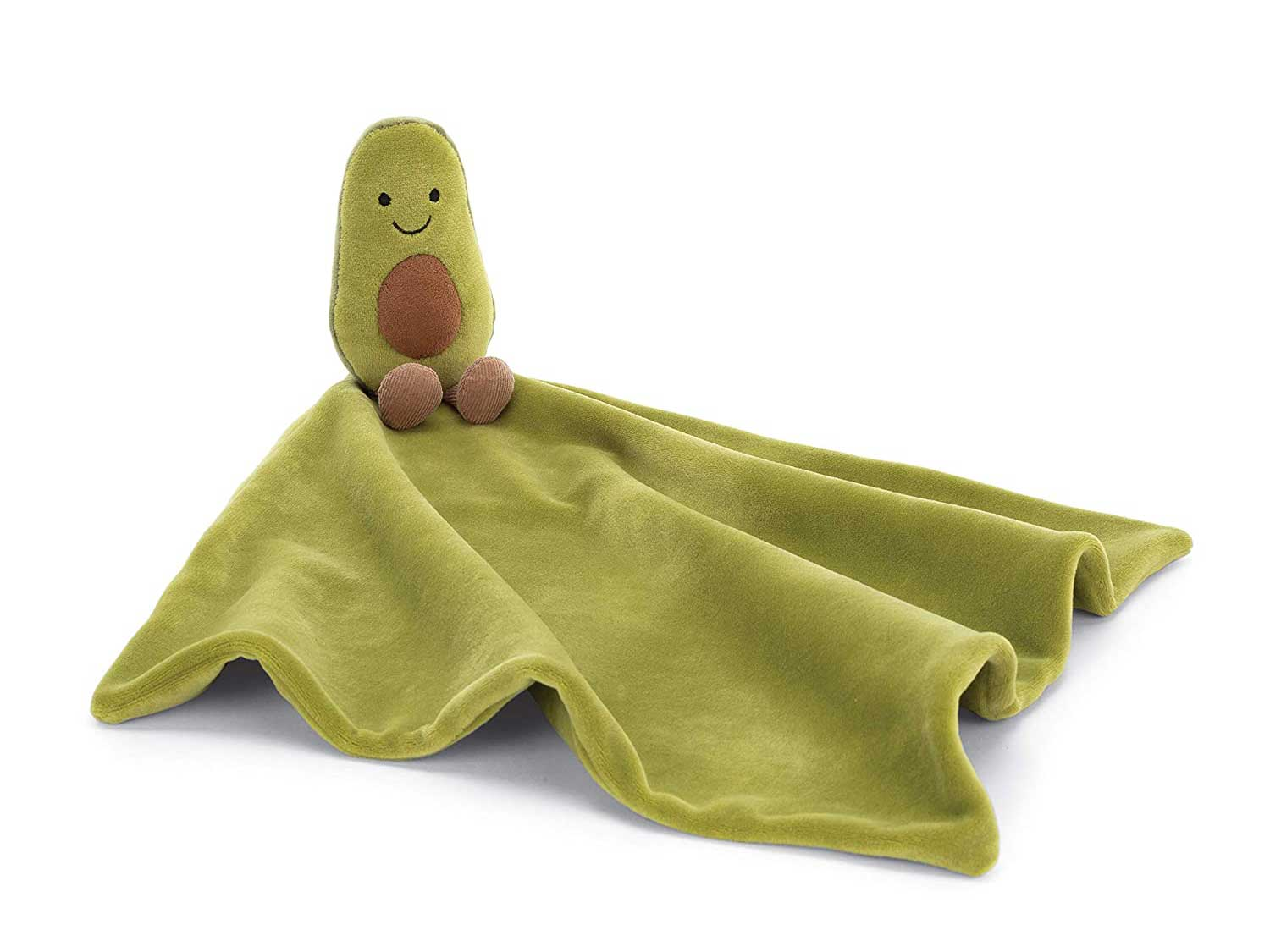 Jellycat Amuseable Avocado Soother Baby Security Blanket