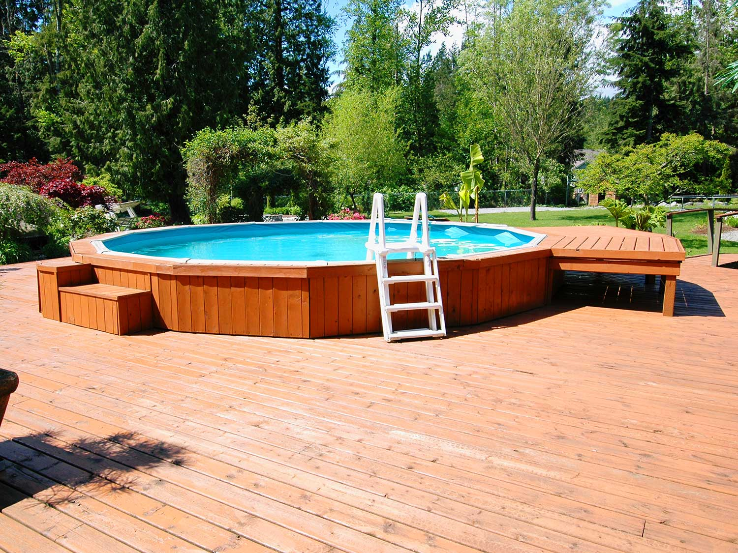 pool deck getty images