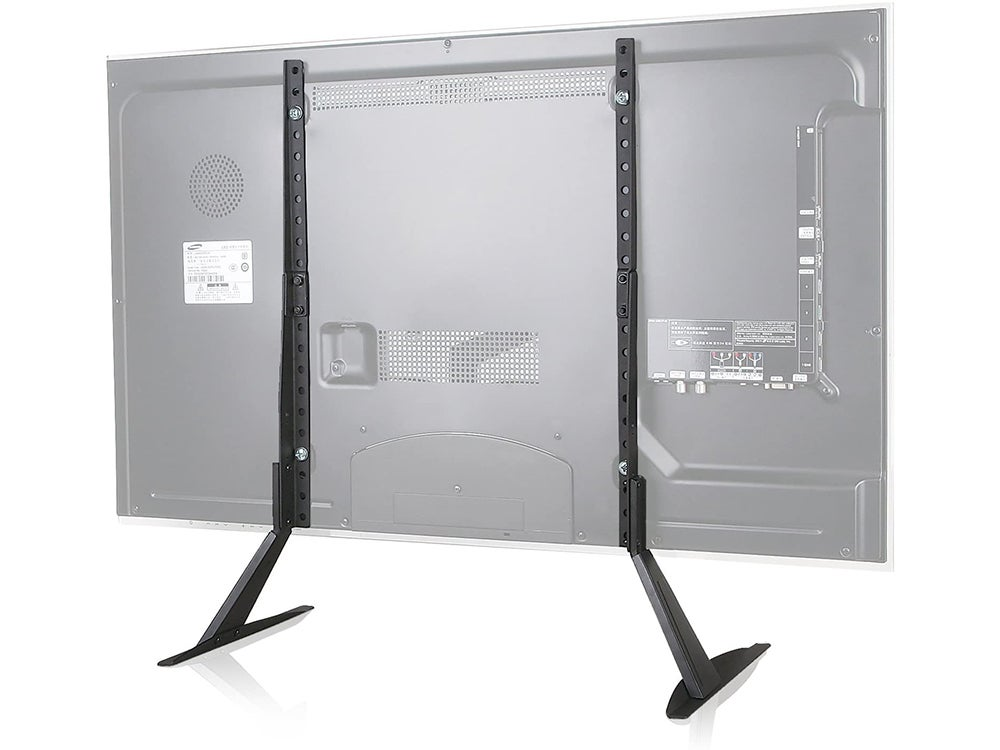 WALI Universal TV Stand Table Top for Most 22 to 65 inch LCD Flat Screen TV