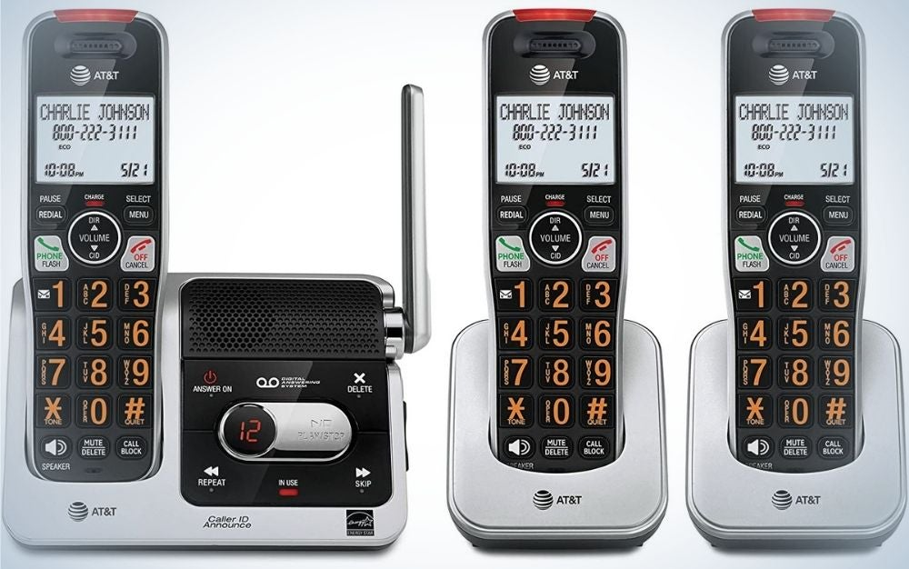 The AT&T BL102-3 DECT 6.0 3-Handset Cordless Phone for Home is the best for noise-filtering.
