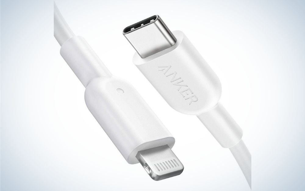 Anker USB C to Lightning Cable is the best lightning cable.