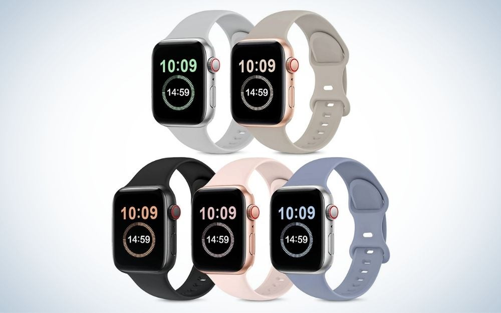 OYODSS 5 Pack Bands Compatible with Apple Watch are the best value for Apple Watch bands.