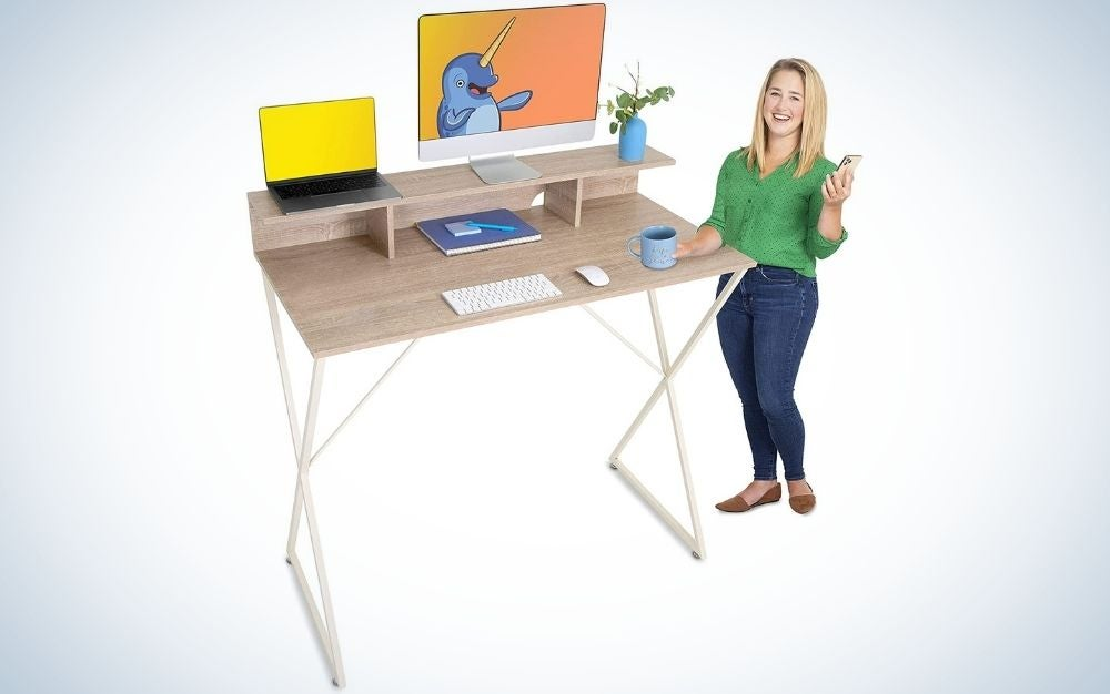 The Stand Steady Joy Standing Desk is the best fixed-height style.