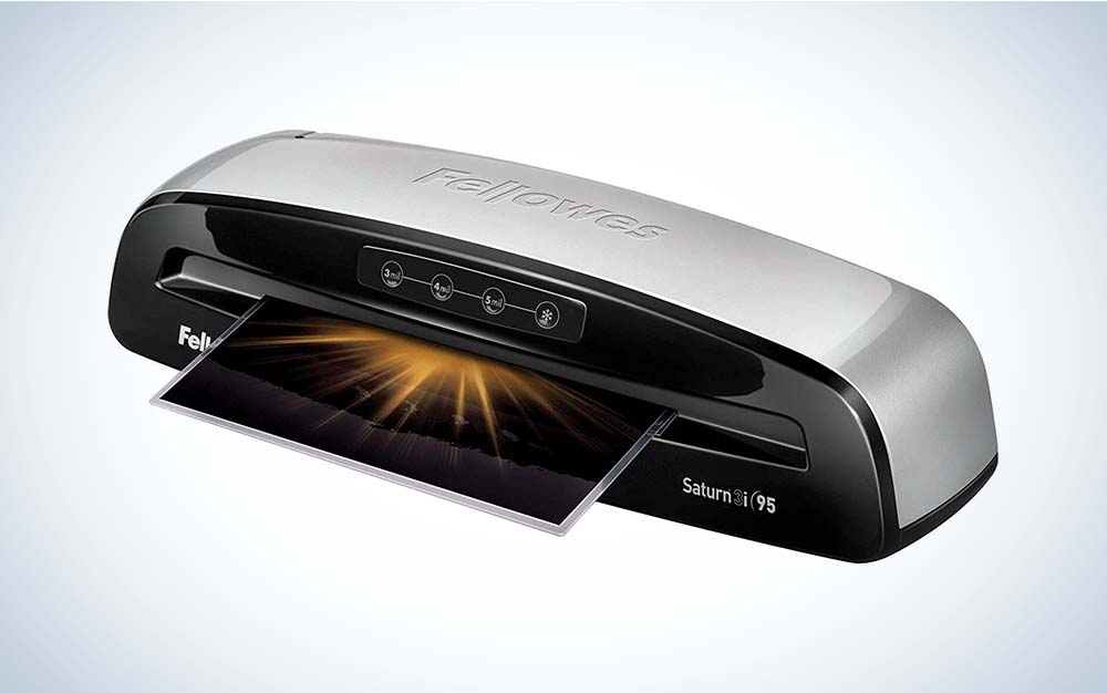 The Fellowes 5736606 Laminator Saturn 3i 95 is the best overall.