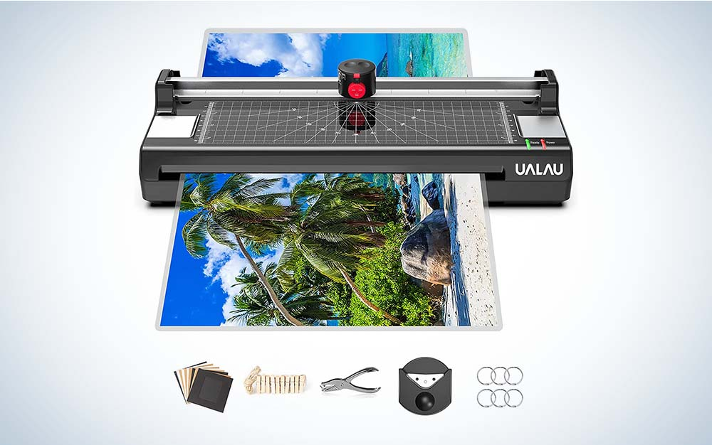 The 13 Inches Laminator Machine by UALAU is best for posters.