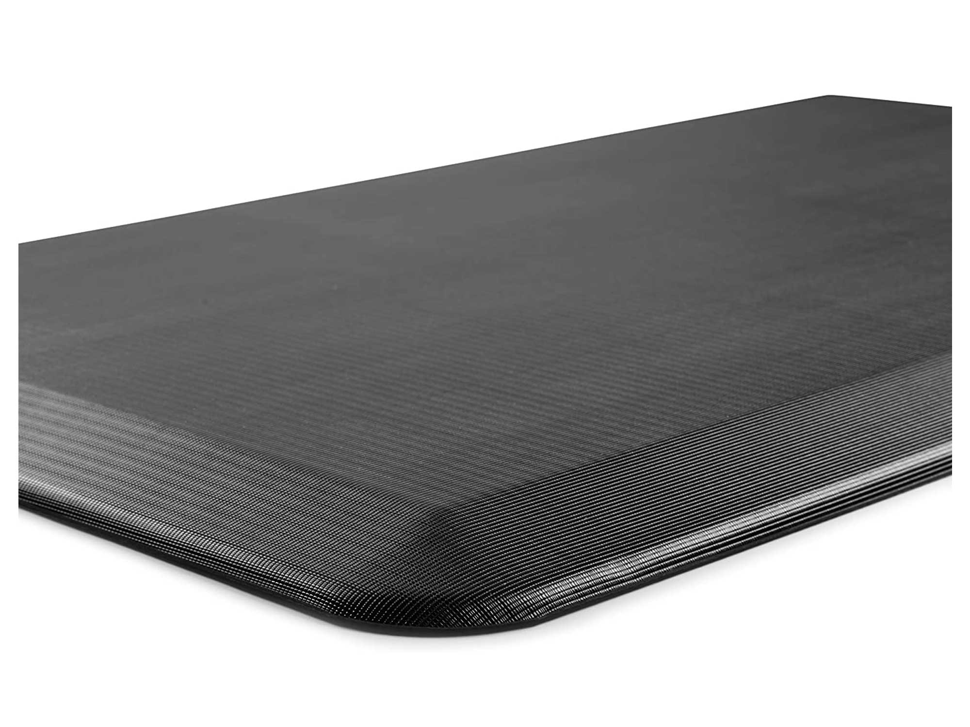 ComfiLife Anti Fatigue Floor Mat – 3/4 Inch Thick Perfect Kitchen Mat, Standing Desk Mat – Comfort at Home, Office, Garage – Durable – Stain Resistant – Non-Slip Bottom – Black, 20x32 Inch