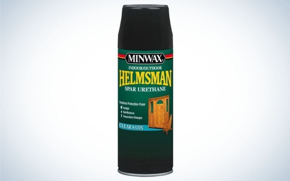 Minwax Helmsman Spar Urethane is the best outdoor furniture treatment for value.