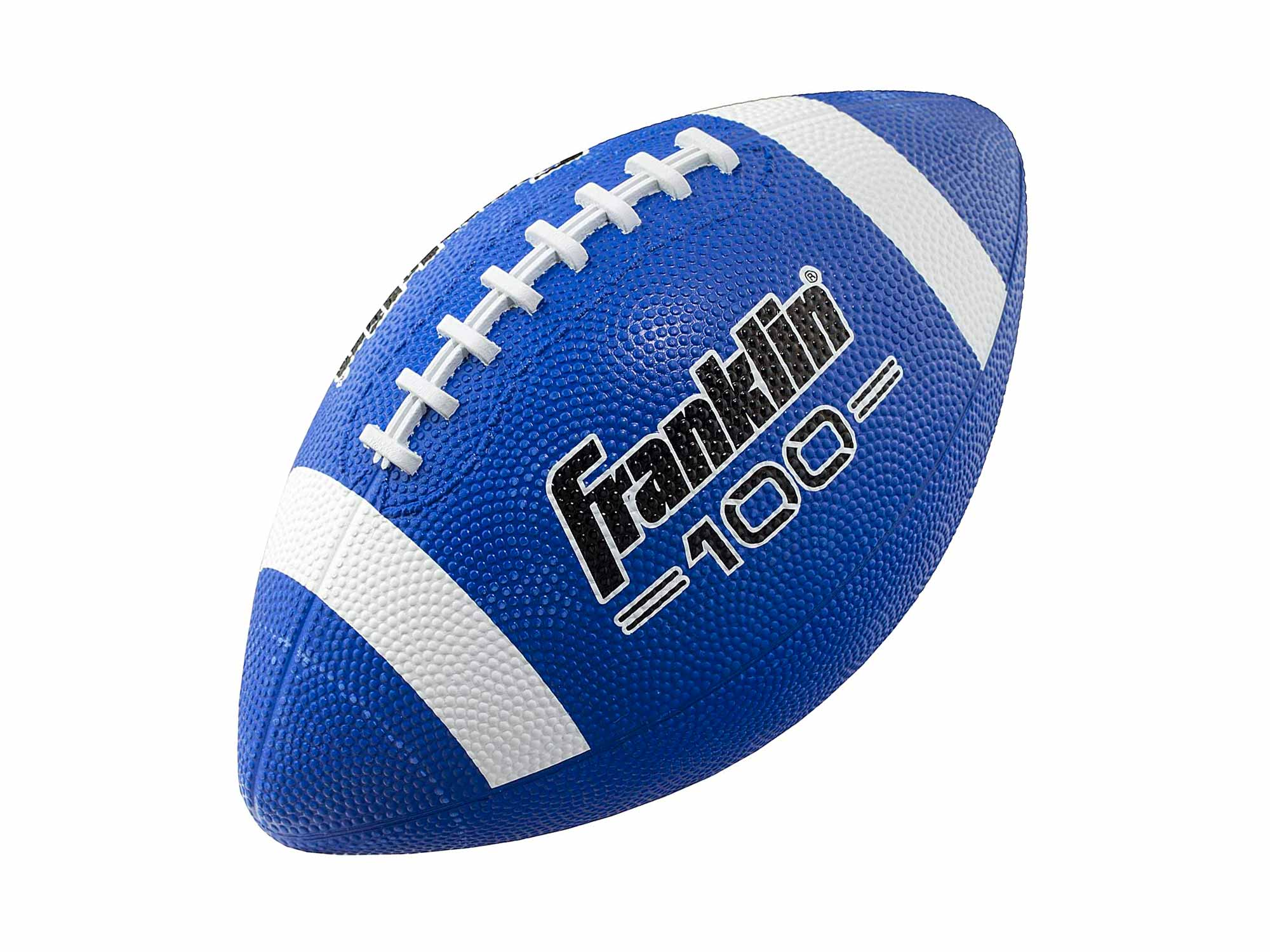 Franklin Sports Grip-Rite 100 Rubber Junior Football