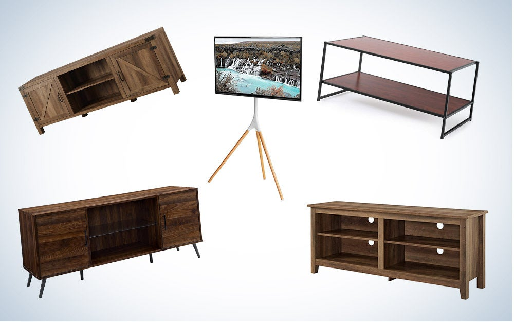 These are our picks for the best TV stands on Amazon.