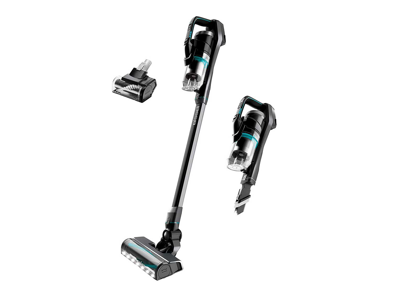 BISSELL ICONpet Cordless with Tangle Free Brushroll, SmartSeal Filtration, Lightweight Stick Hand Vacuum Cleaner