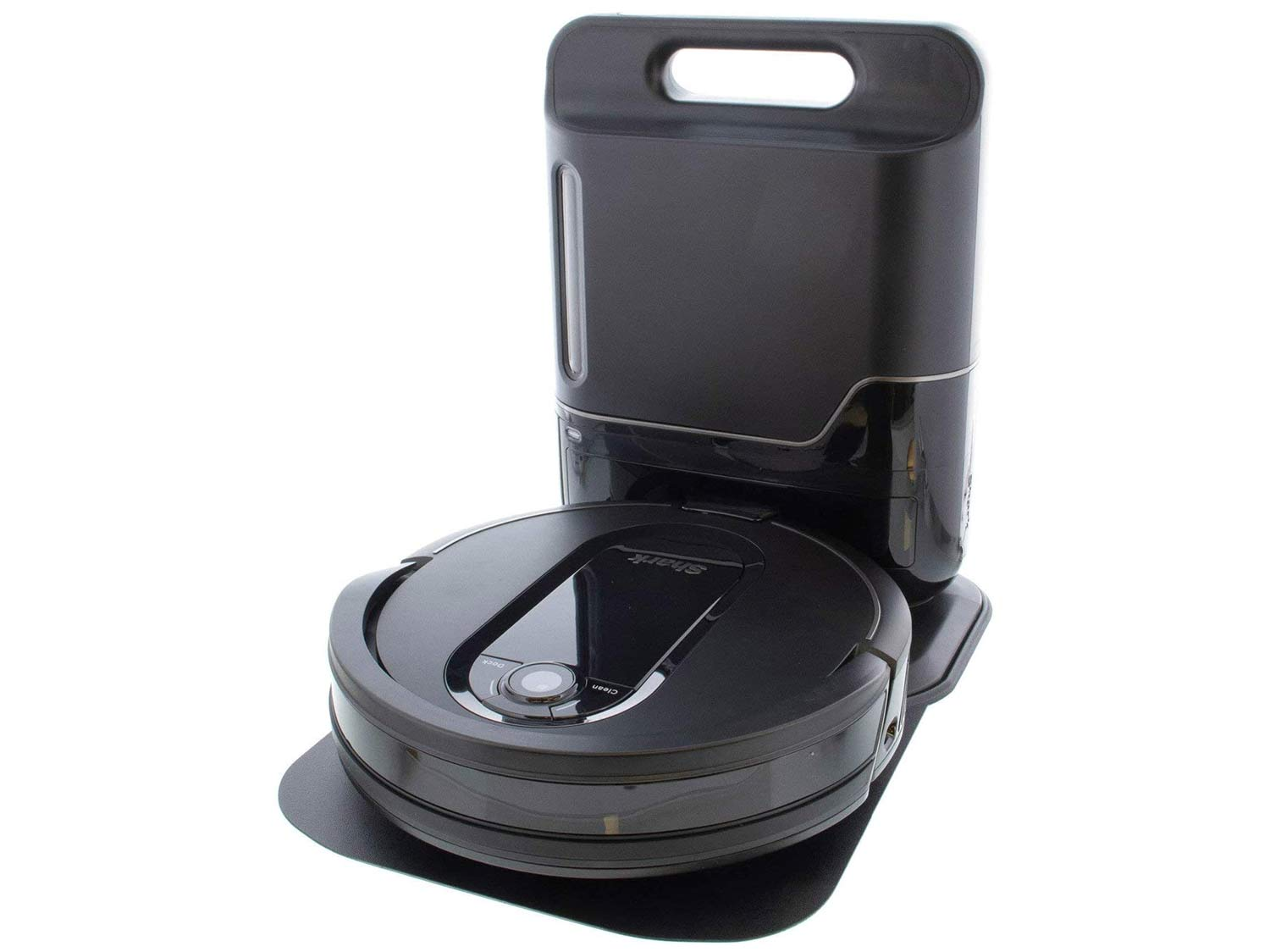 Shark Empty XL RV1001AE Robotic Vacuum, IQ Navigation, Home Mapping, Self-Cleaning Brushroll, Wi-Fi Connected, Works with Alexa