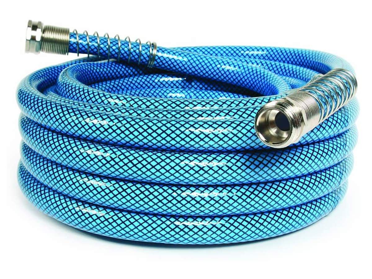 Camco 35ft Premium Drinking Water Hose - Lead and BPA Free, Anti-Kink Design, 20% Thicker Than Standard Hoses 5/8