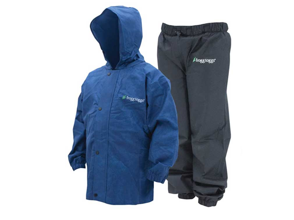 FROGG TOGGS Youth Polly Woggs Youth Waterproof Breathable Rain Suit