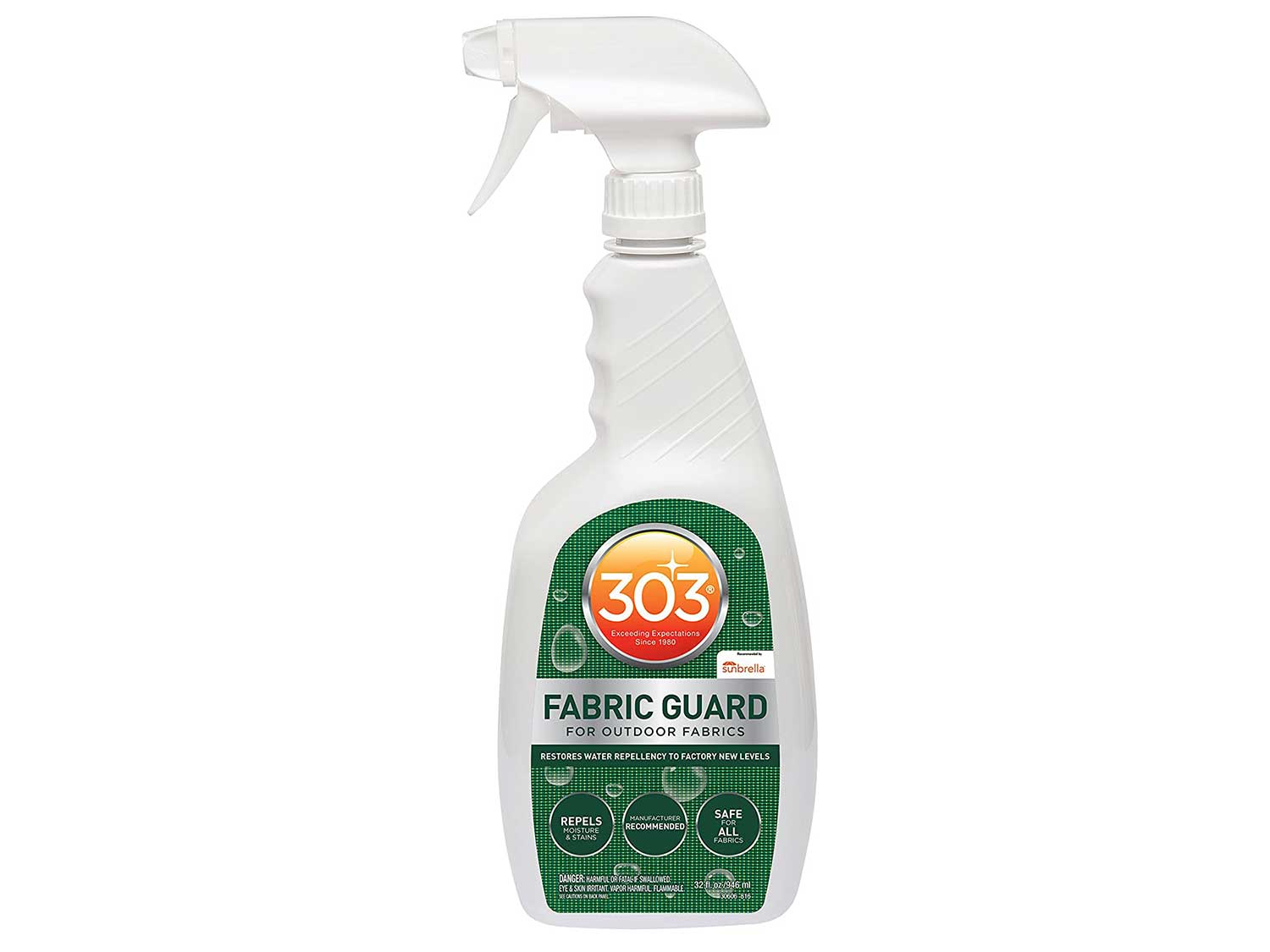 303 Products 30606 Fabric Guard In Spray Bottle 32 Oz, White