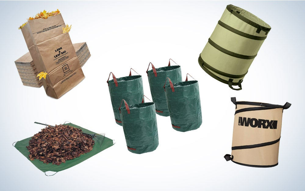 These are our picks for the best leaf bags on Amazon.
