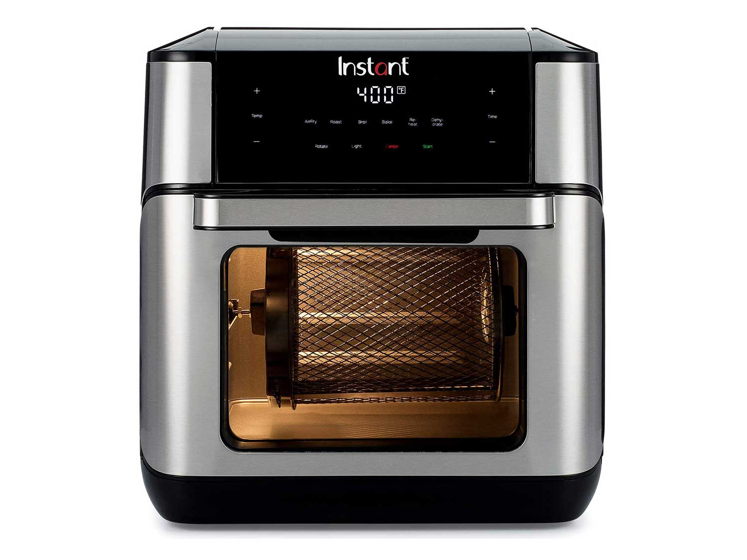 Instant Vortex Plus Air Fryer Oven 7 in 1 with Rotisserie, 10 Qt, EvenCrisp Technology