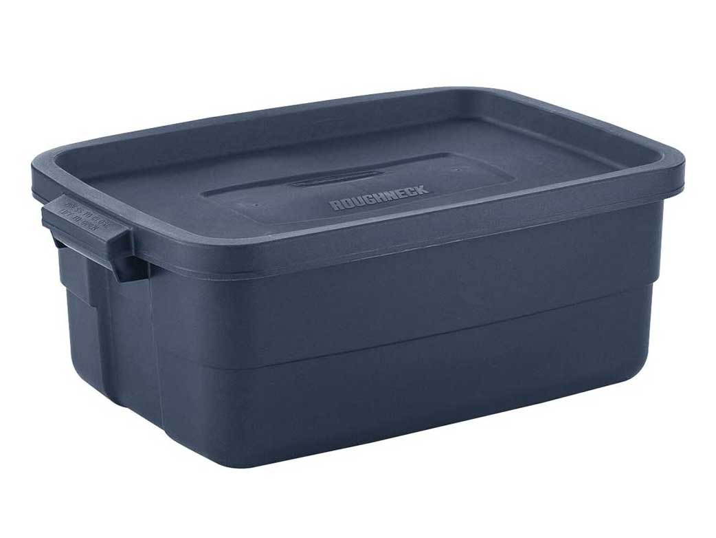 Rubbermaid Roughneck️ Storage Totes 10 Gal Pack of 8 Rugged, Reusable, Set of Storage Containers