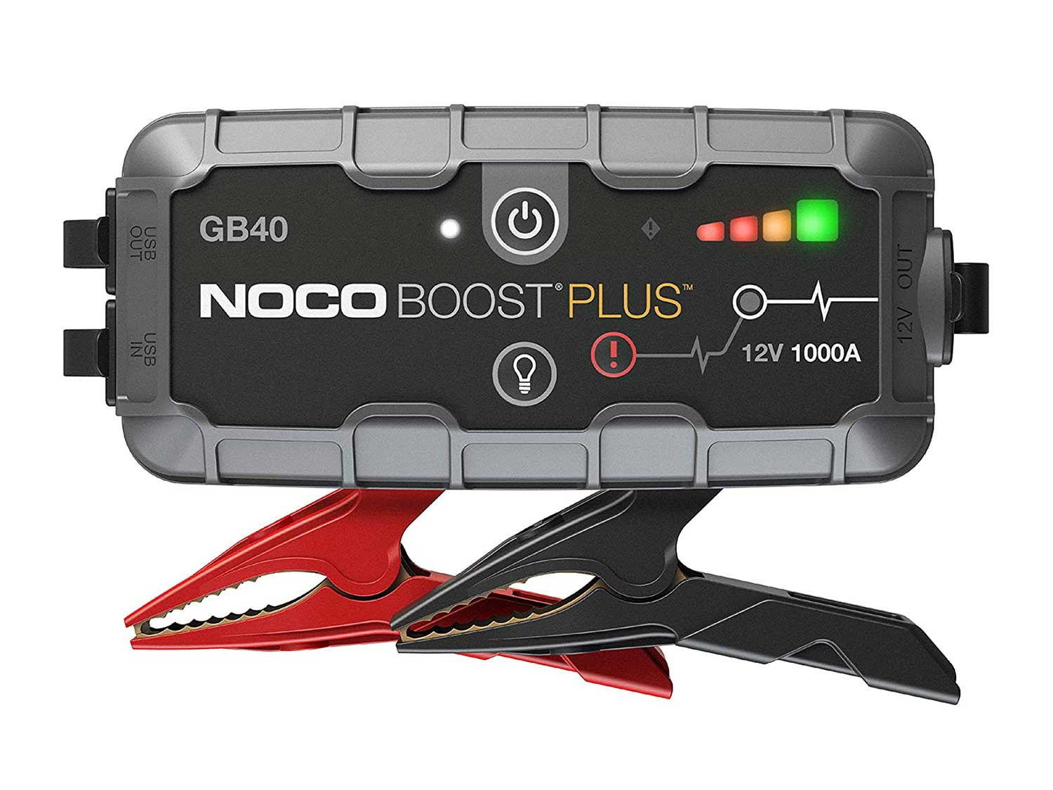 NOCO Boost Plus GB40 1000 Amp 12-Volt Ultra Safe Portable Lithium Car Battery Jump Starter Pack For Up To 6-Liter Gasoline And 3-Liter Diesel Engines