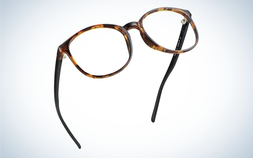LifeArt Blue Light Blocking Glasses are best for glasses wearers.