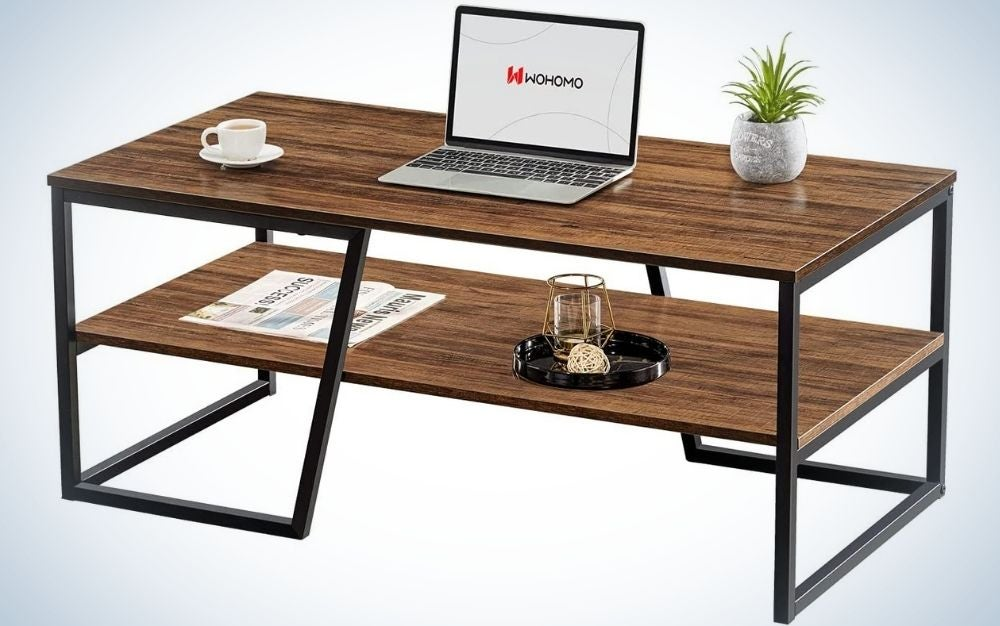 The WOHOMO coffee table is our pick for the best budget coffee table.