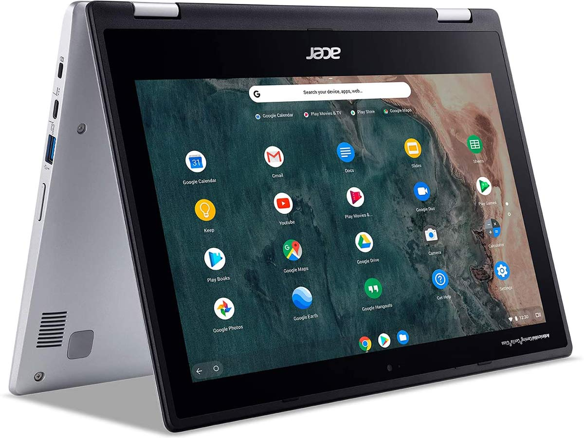 Acer Chromebook Spin 311 Convertible Laptop, Intel Celeron N4020, 11.6