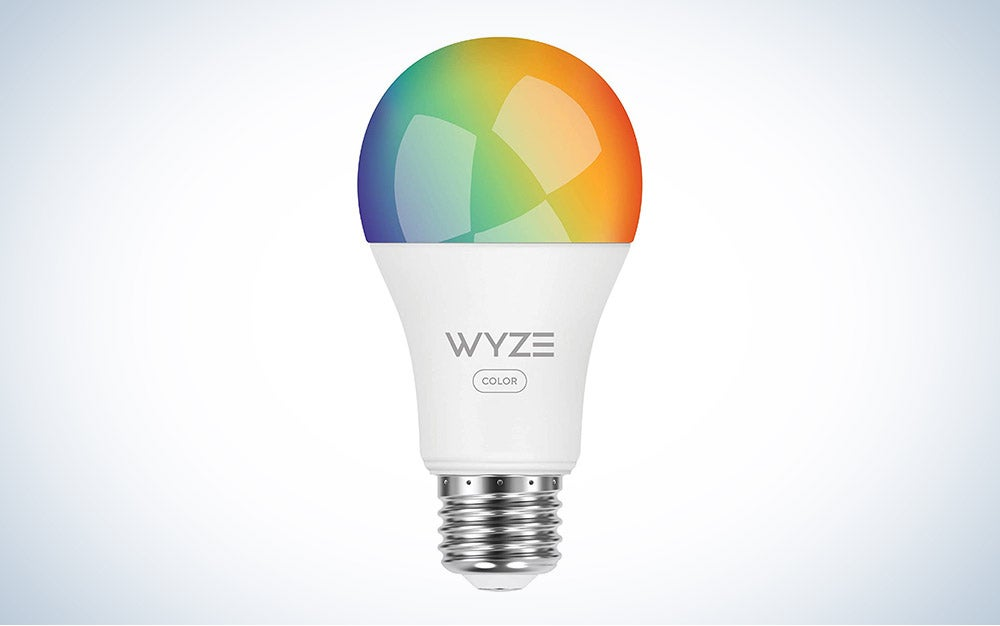 This Wyze Labs Smart Bulb is the best budget pick.