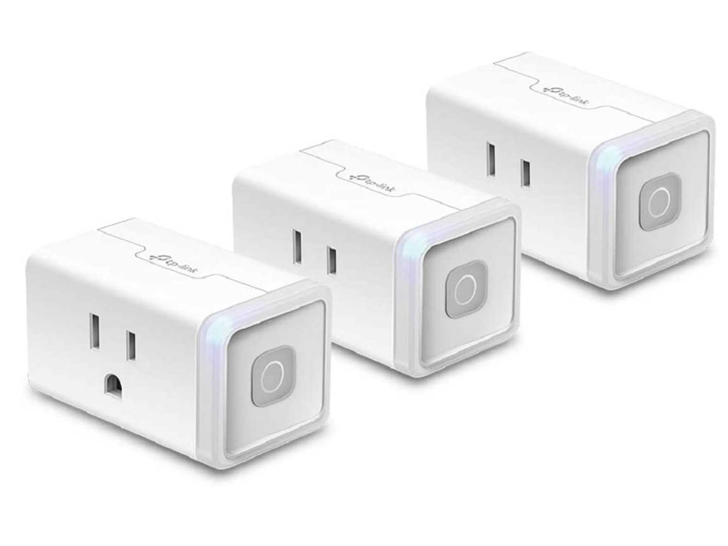 Kasa Smart Plug by TP-Link, Smart Home WiFi Outlet Works with Alexa, Echo, Google Home & IFTTT, No Hub Required, Remote Control, 12 Amp, UL Certified, 3-Pack