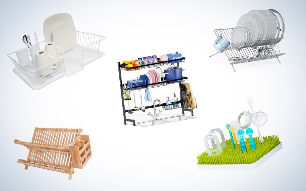 These are our picks for the best dish drying racks on Amazon.